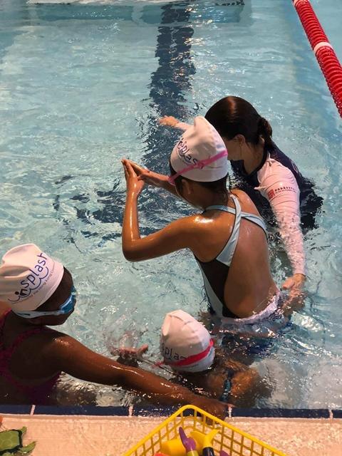 CDNIS Child diving
